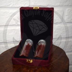 Iranian saffron gift box