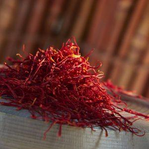 The price of saffron in Uruguay